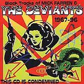 Black Tracks of Mick Farren & Deviants 1967-96 Condemned CD 2000 Total Energy