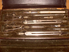 B.J. Hall Compass / Drawing Instruments - As Photo's