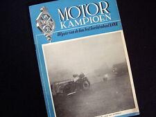 MOTOR KAMPIOEN~DECEMBER 1950~UITGAVE A.N.W.B.~1E JAARGANG~NR. 62~OLD ADVERTS