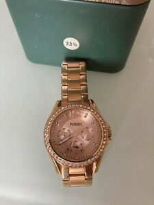 Fossil Riley ES2811P Armbanduhr für Damen