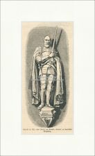 Albrecht el oso primer Duque de Prusia uni Königsberg madera clave e 20741