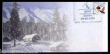 Gulmarg, Skiing destination, Sports, Special Cover, India 2011 Cancellation (n)