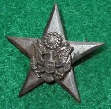 WWI US Army General Staff Officer Branch Collar Badge Pin Insignia GS