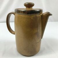 Vintage McCoy Pottery 1419 Canyon Mesa Lidded Coffee Pot Pitcher Server