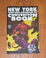 1994 New York Comic Book Convention Book w/Hellboy on the Cover