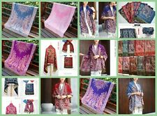10 Wholesale scarf accessory retro paisley thick pashmina shawls