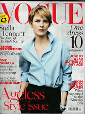 VOGUE Magazine (UK) July 2015 - Stella Tennant