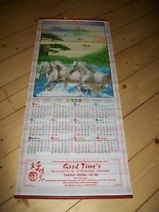 Chinesischer Kalender 2020 Pferde