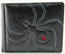 Shagwear Black Widow Spider Men's Bifold Wallet