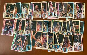 1978 Topps Autographed Basketball card Lot of (39) total cards - signed LOT