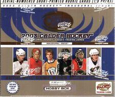 2002-03 PACIFIC CALDER HOCKEY HOBBY BOX