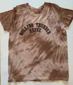 BOB DYLAN 1975/76 ROLLING THUNDER REVIEW T-SHIRT / FROM DYLAN'S TOUR BUS