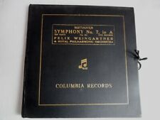 Beethoven- Felix Weingartner & Royal Philharmonic Orchestra–Symphony No. 7,In A