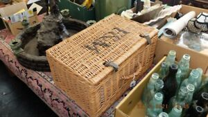 fortnum and mason wicker picnic basket hamper