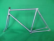 Panasonic Grayish Blue NJS Keirin Frame Track Bike Fixed Gear Single Speed