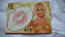 Carte Benchwarmer Mary Riley Kiss card!Revendeur!