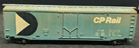 TYCO BLUE BOXCAR CP RAIL CP 9208. HO SCALE VINTAGE, AGED