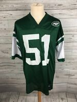 Men's New York Jets NFL Shirt/Jersey - Large - #51 COX - PUMA