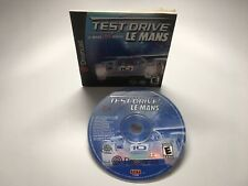 TEST DRIVE: LE MANS - DREAMCAST GAME AND MANUAL (NO CASE)