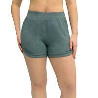 ACTIVE LIFE  Zip Pocket Studio Short GREEN Women's Sz S-XL NWT MSRP$58