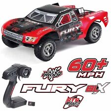 ARRMA 1/10 FURY BLX Brushless 2WD Short Course Truck Red/Black RTR W/ TTX300