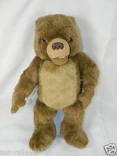 """1998 Kidpower Maurice Sendak 15"""" TALKING LITTLE BEAR Vintag Plush Stuffed Animal"""