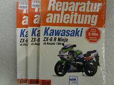 Reparaturanleitung, Buch, KAWASAKI, ZX-6R Ninja, ZX600 F G , ab 1995, Band 5212