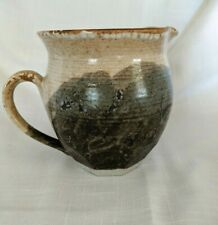 2005 Pottery David Scott Cole, Small Pitcher with handle ~ Hand Painted ~ Signed