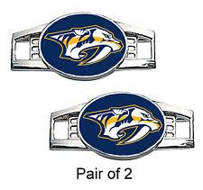 Nashville Predators Shoe Charms / Paracord Charms