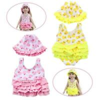 Clothes Swimwear Swimsuits for 18 inch Girl Our Generation Doll Summer Clot S3E7