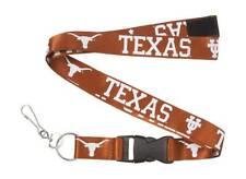 Ncaa Texas Longhorns Lanyard, Texas Orange