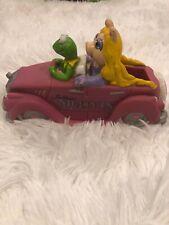 Jim Hensons Muppets Vintage Soap Caddy 1988 Kermit The Frog Miss Piggy Pink Car