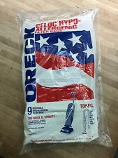 Pack of 9 Oreck XL Hypo-Allergenic Vacuum Cleaner Bags For All Upright Models
