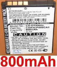 Batería 800mAh tipo CAB30P0000C1 CAB3CP000CA1 TB-4X para ALCATEL OT-808