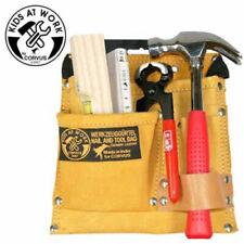 Corvus Kinder Werkzeuggürtel Tasche Set Werkzeug Gürtel Zubehör Leder Textil NEU