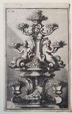Gravure Maximilien Limpach 1714 Giovanni Giardini