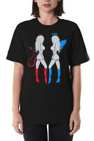 Devil and Angel Hot Girls Gift Funny Graphic T-Shirts