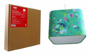 Need Craft Rounded Square Lampshade Making Kits 3 sizes 20cm, 30cm, or 40cm