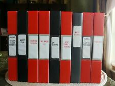 Rare Chinese Horror Mold Lot VHS Martial Arts Action 9 Movies Haunted Cop Shop!!