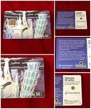 France Telecom Euro Disneyland Paris 1992 Small World Collectable Phone Card