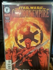Star Wars Crimson Empire I 1 2 3 4 5 near complete set VF/NM