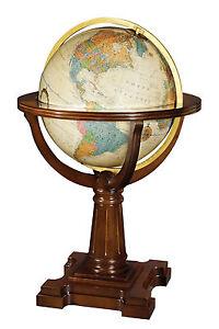 Replogle Annapolis Illuminated 20 Inch Floor World Globe