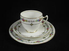Vintage Royal Albert Crown China Rosa Trio 4781 Tazza Piattino Piatto Laterale c.1927