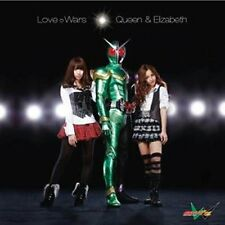 QUEEN & ELIZABETH-LOVE WARS W/ B2-SIZE POSTER-JAPAN CD Jacket D w/poster C15