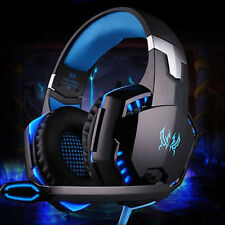 Each Gaming Headset Mic LED G2000 Earphone Headphones for PC Gamer Laptop  UK