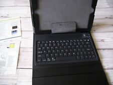 Bluetooth Keyboard Folding Leather Protective Case with Manual