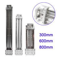 CNC Ballscrew Sliding Table 300mm/ 600mm/800mm Cross Slide Linear Rail Stage
