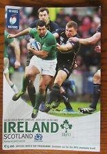 Very Rare 2014 - Ireland v Scotland - 6 Nations Programme