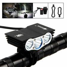 15000LM Bike 3 x XM-L T6 LED SolarStorm Bicycle Lamp Outdoor Headlight Hot