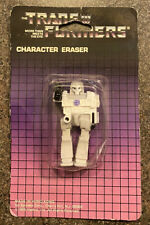 G1 Transformers Megatron Character Eraser, new, Spindex 1985 New Unopened